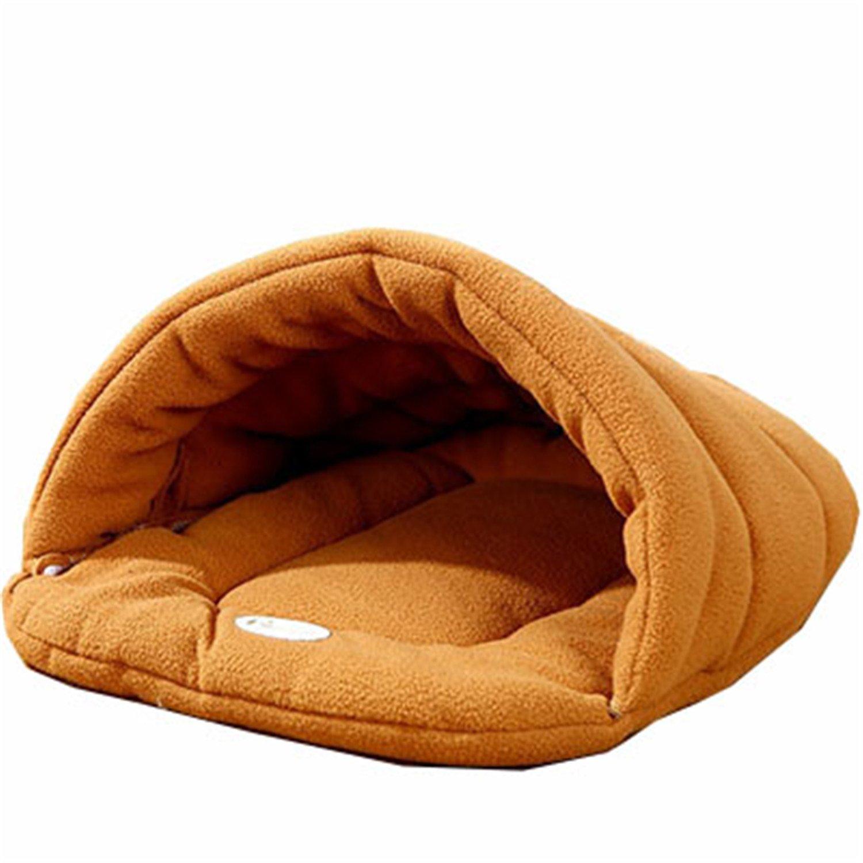 1 L 58X48CM 1 L 58X48CM Leroyca Small Dog Puppy Kennel Sofa Polar Fleece Material Bed Pet Mat Cat House Cat Sleeping Bag 1 L 58X48CM