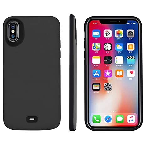Cover Batteria iPhone X/XS iPosible 6500mAh Custodia Ricaricabile
