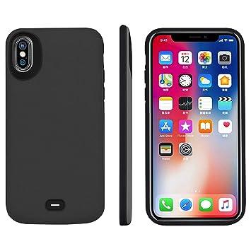 HQXHB Funda Batería para iPhone XS/X/10 , 5000mAh Funda ...