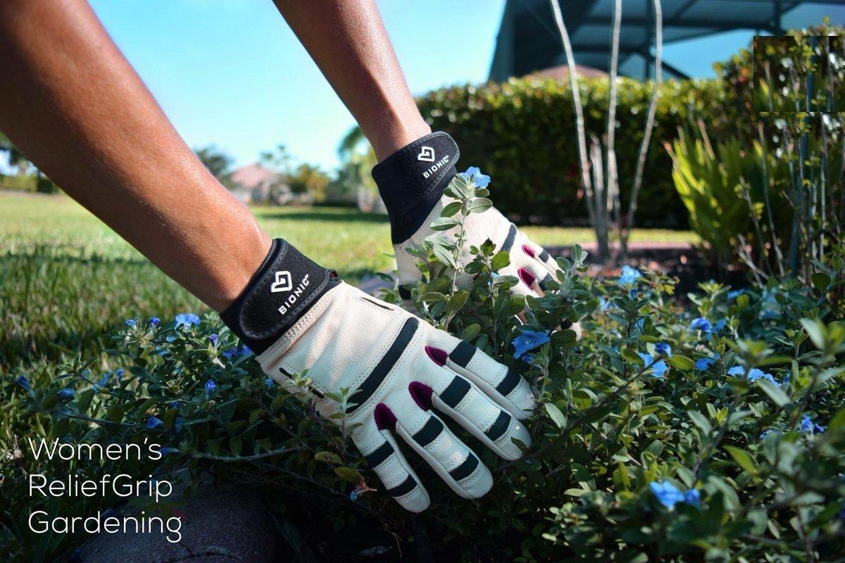 Bionic Women's Relief Grip Gardening Gloves, Large (PAIR) – GW2L