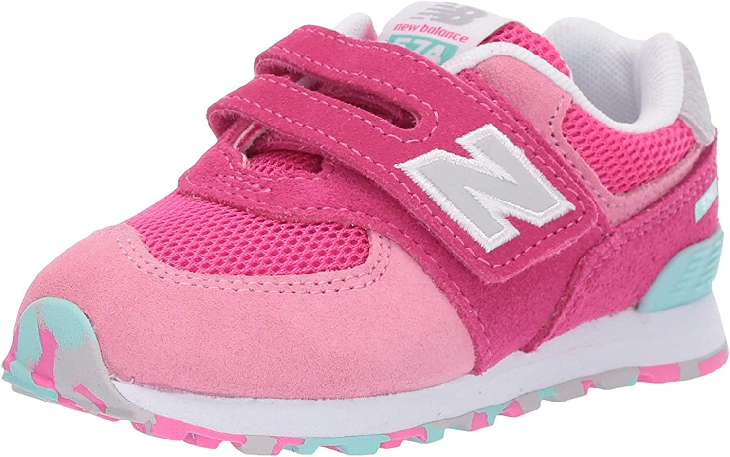 new balance enfant velcro