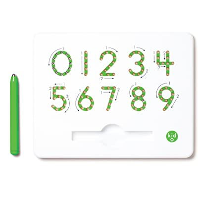 Kid O 0-9 Learn Your Numbers Magnatab: Toys & Games