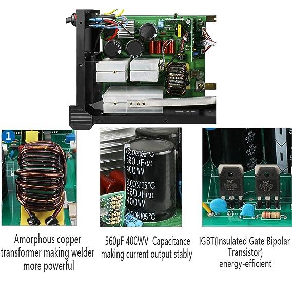 AUTOOL EWM-508 ARC-200 DC Inverter Welder, 20-160Amp IGBT Welding Machine Kit, AC 110V/220V Dual Voltages Portable Electric Welder - - Amazon.com