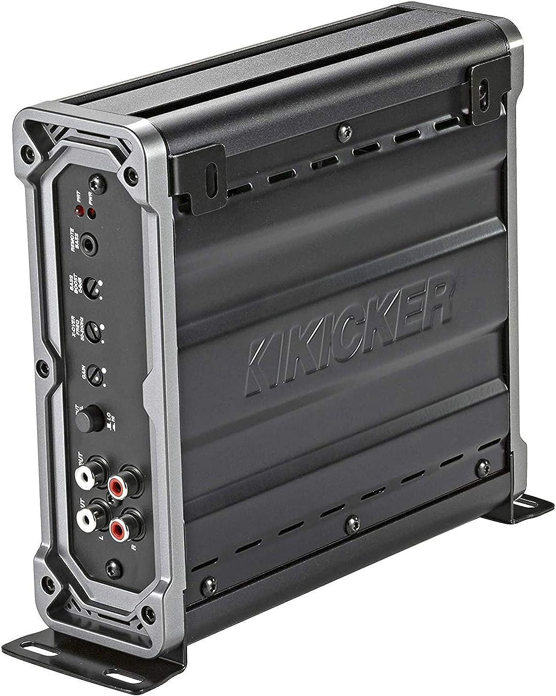Black Kicker 46CXA8001T CX Series 1600 Watt Max Power Class D Amp Monoblock Car Audio Sub Vehicle Amplifier