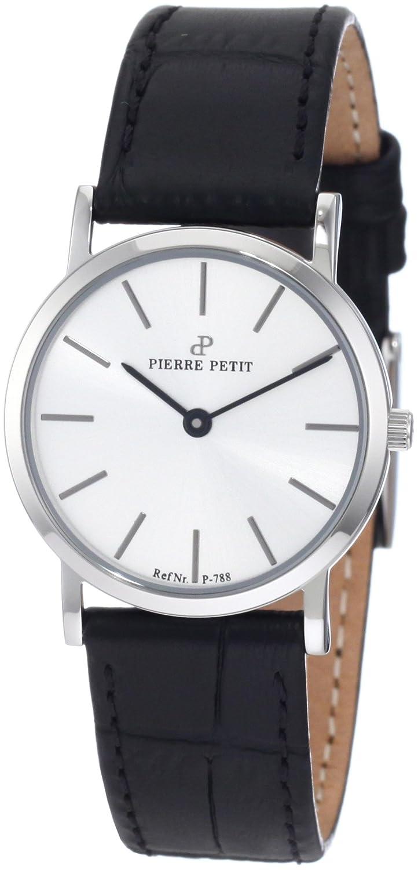 Pierre Petit Damen-Armbanduhr XS Nizza Analog Leder P-788B
