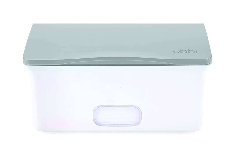 Ubbi Set con Caddy/dispensador de toallitas/cambiador de pañales: Amazon.es: Bebé