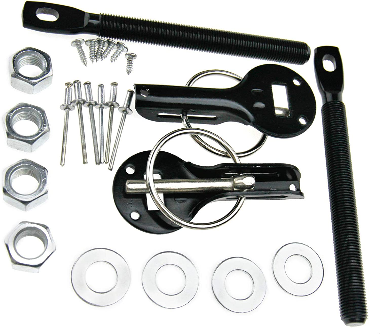 Universal Vehicle Mount Hood Bonnet Pin Bonnet Key Lock Sets