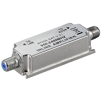 5 pcs SAT-amplificadores de antena 950 - 2400 mhz/20 db