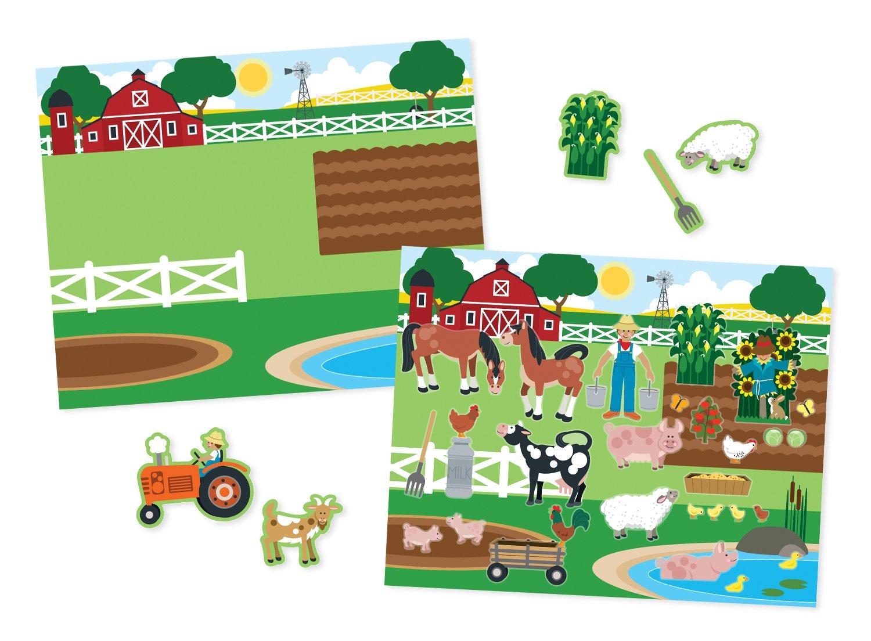 Amazon.com: Melissa & Doug Habitats Reusable Sticker Pad: Melissa ...