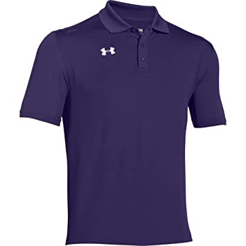 Under Armour Team Armour Polo para hombre., XXXL, Púrpura: Amazon ...