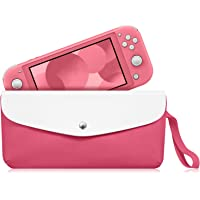 Fintie Carry Case for Nintendo Switch Lite 2019 - Portable Travel Bag Protective Sleeve Pouch w/Side Pocket & Game Card Slots & Holding Strap for Nintendo Switch Lite and Accessories EHBF040