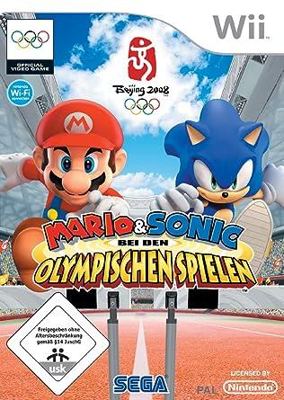 Mario Sonic Bei Den Olympischen Spielen Nintendo Wii Amazonde