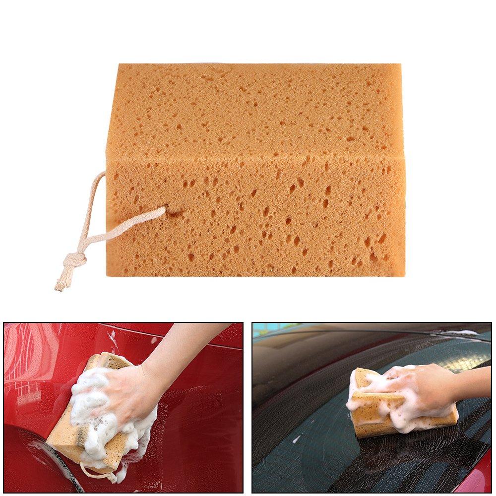 OurLeeme Spugne durevoli auto del veicolo di lavaggio per auto Lavatrice pulizia bagno Cucina Domestici Clean Strumenti