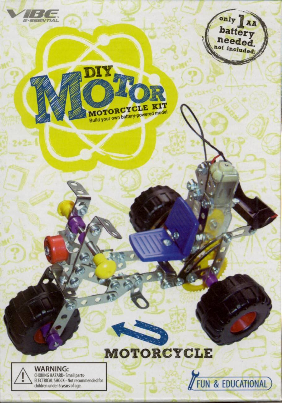 Vibe E Ssential Diy Motor Motorcycle Kit Toys Games Wiring Instructions