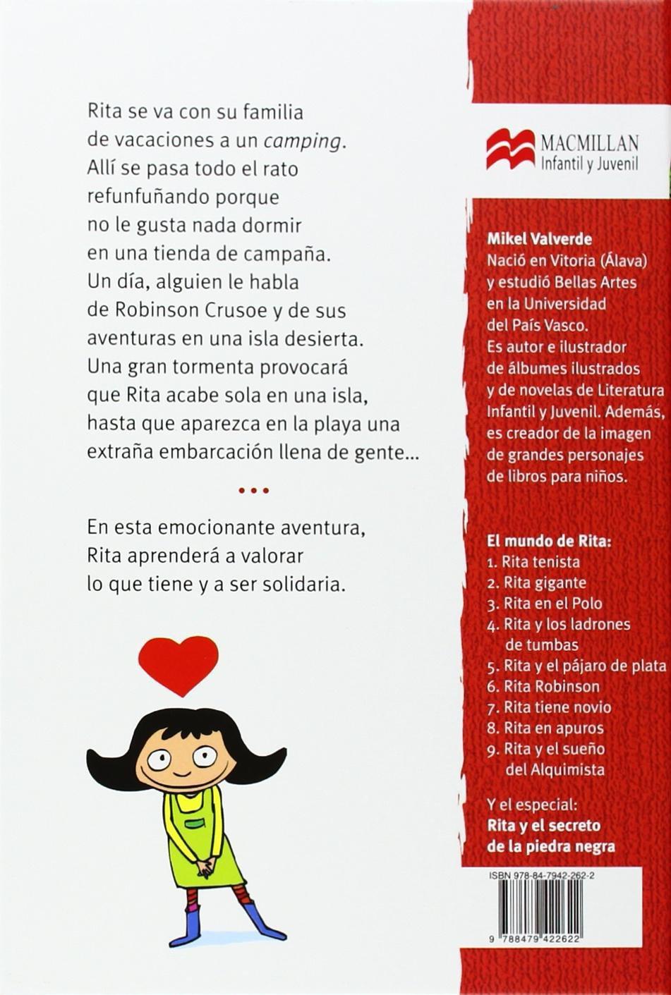 Rita Robinson (El Mundo de Rita) (Spanish Edition): Mikel Valverde: 9788479422622: Amazon.com: Books