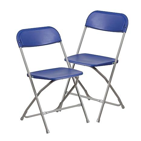 Amazon.com: Delacora Hercules – Juego de 2 sillas plegables ...