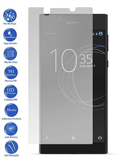 Todotumovil Protector de Pantalla Sony Xperia L1 de Cristal ...
