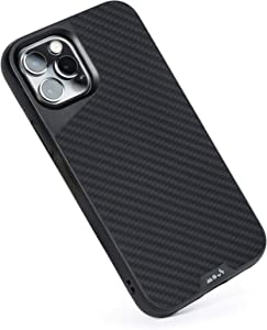 Mous - Protective Case for iPhone 12 Pro Max - Limitless 4.0 - Aramid Fiber - Fully Compatible with Apple's MagSafe