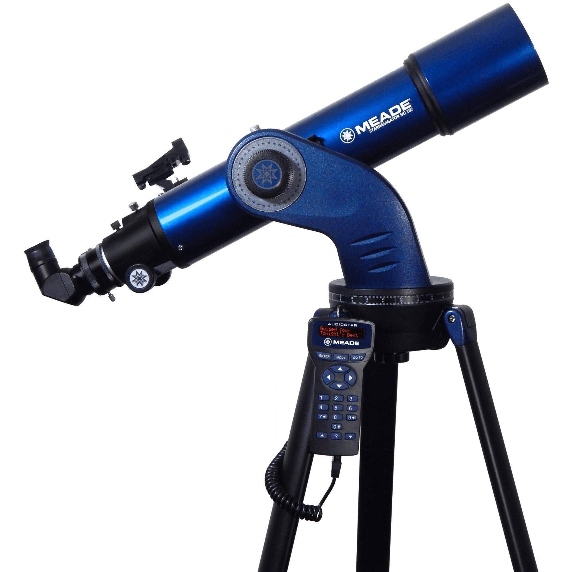 Meade Instruments StarNavigator NG 102MM Achromatic Refractor Telescope with AudioStar Controller by MEADE