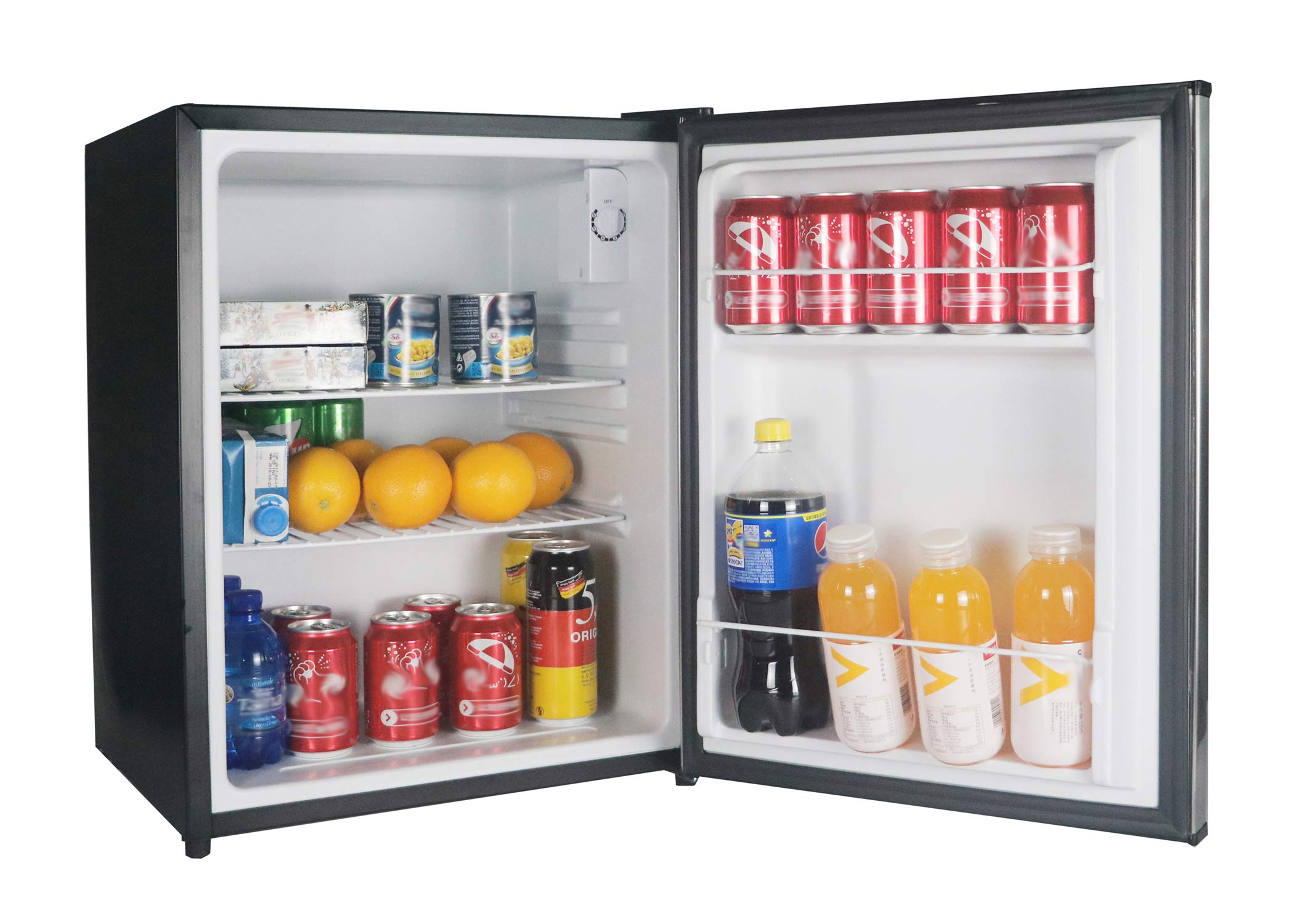 Magic Chef MCAR240SE2 Energy Star Stainless Steel Door 2.4 Cu. Ft. Mini All-Refrigerator by Magic Chef (Image #5)