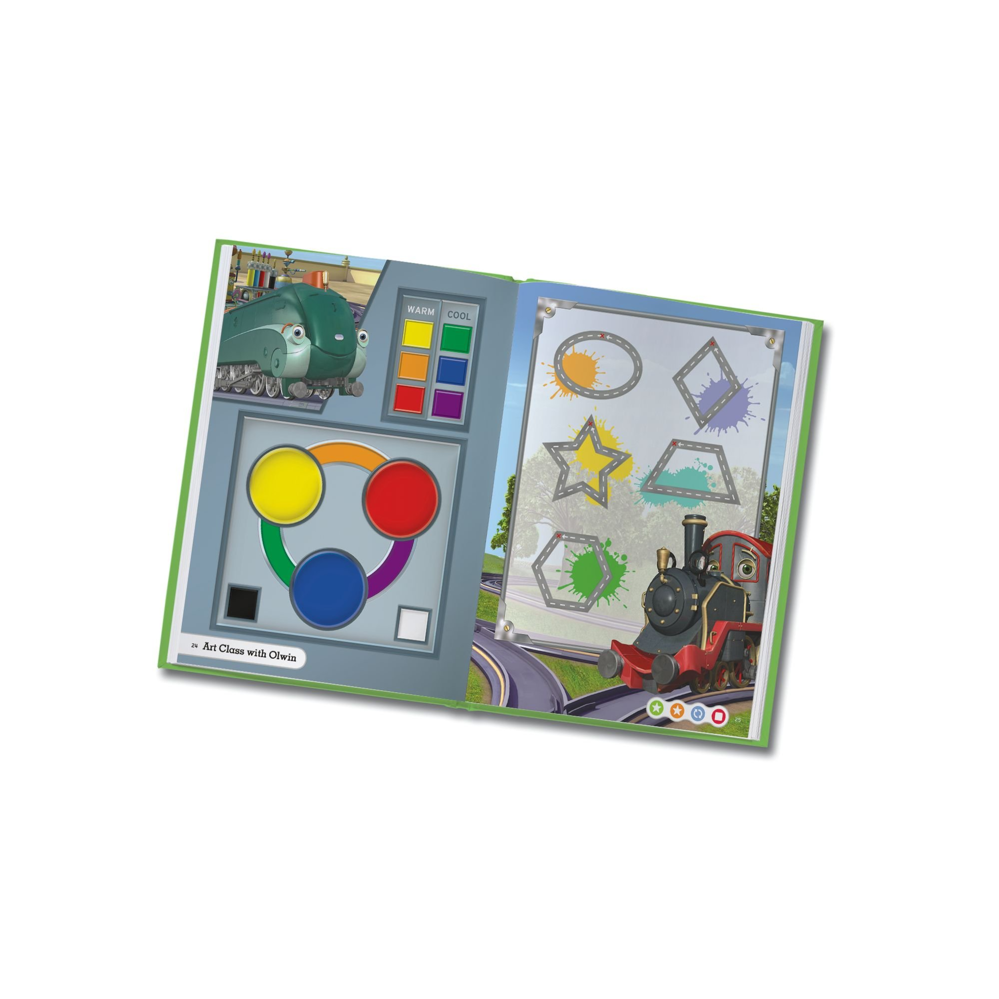 LeapFrog LeapReader Book: Chuggington: Wilson and the Paint Wagon (works with Tag) by LeapFrog (Image #7)