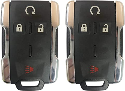 GMC Sierra Canyon 2014 2015 2016 2017 Car Key Fob Keyless Entry Remote Start fits Chevy Silverado Colorado M3N-32337100
