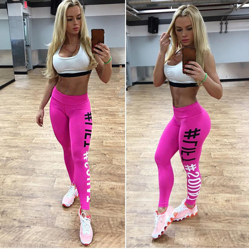 Women's Workout Leggings Pants- Fitness Sports Gym Running Yoga Athletic Fashion Pants, Sunsee Gril 2019 by SUNSEE WOMEN'S CLOTHES PROMOTION (Image #2)