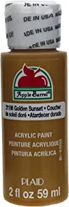 Apple Barrel Acrylic Paint in Assorted Colors (2 Ounce), Golden Sunset
