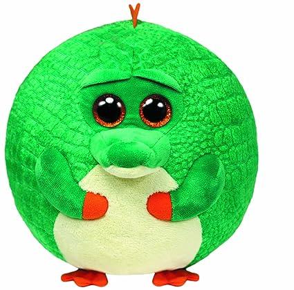 Amazon.com  TY Beanie Ballz Bayou Alligator Plush  Toys   Games 2f27ef3112a6