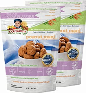 product image for Bambinos Baby Food - Teething Baby Cereal for Peanut Allergy Prevention