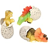 Toysmith Ginormous Hatchin' Grow Dino #8538 (Pack of 3 Random Eggs)