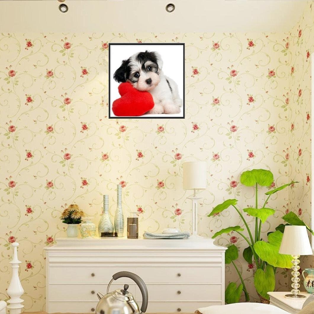 A Chartsea 5D Animal Diamond Rhinestone Pasted Embroidery Painting Cross Stitch Home Decor