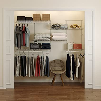 HomeG Smart Closet Organizer Kit (4 8 Foot)