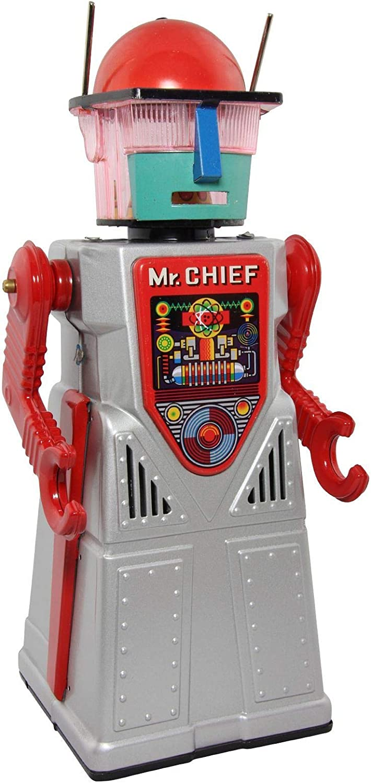 Freak Scene Robot - Robot de hojalata - Chief Smoky - Juguete de ...