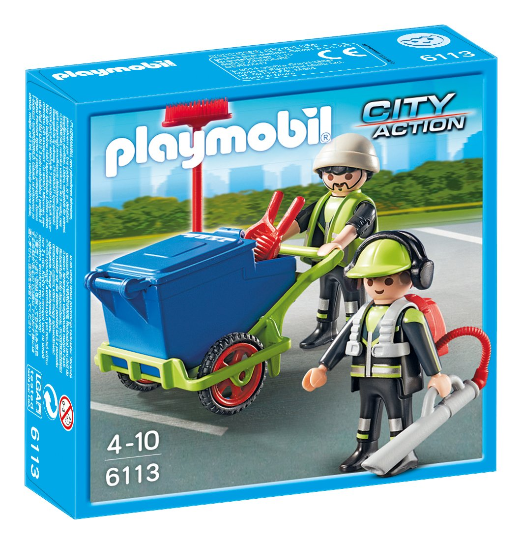 Playmobil - Equipo de saneamiento (61130)
