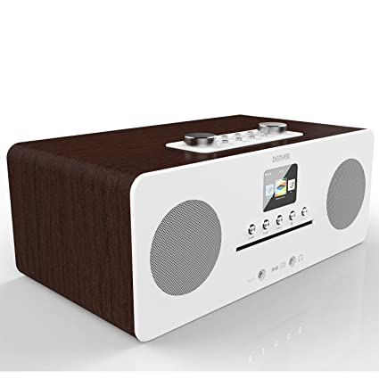 taille 40 classcic classique chic Denver MIR-260 CD Player, Digital DAB+ & WiFi Internet ...
