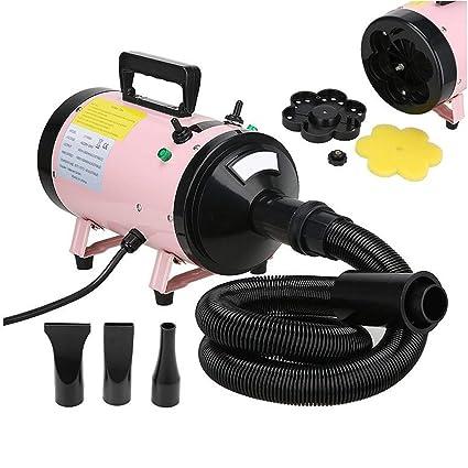 secador de mascotas 2400W Aseo Cabello Alto Velocidad Perro Gato para Secadoras de cabello Bajo ruido