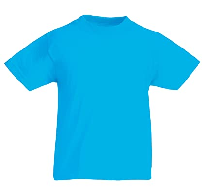 6f659b14 Fruit of the Loom Kids Original T Shirt - 21 Colours/Age 3-15 Years ...