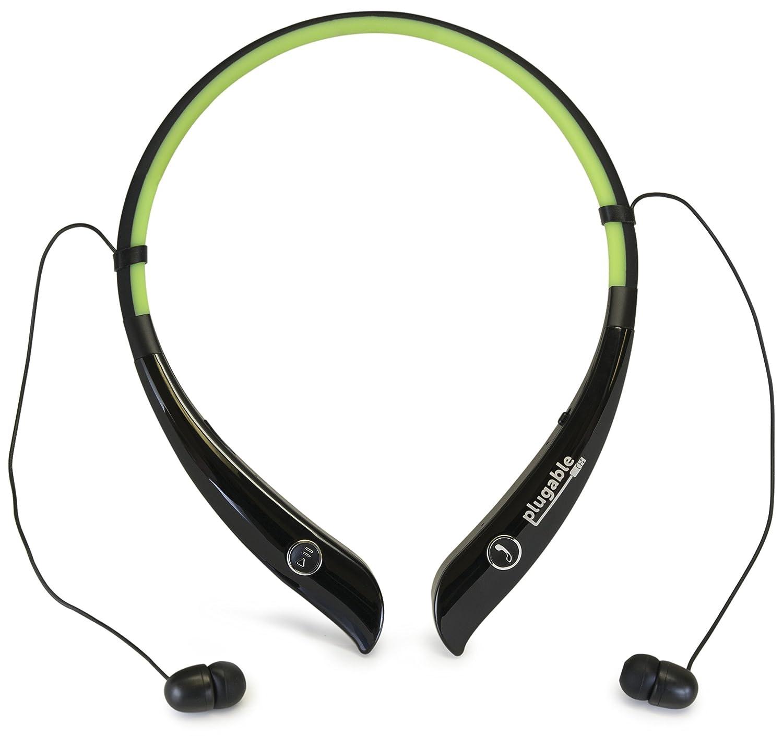 Plugable Bluetooth Flexible Auriculares con EQ de audio y micrófono integrado: Amazon.es: Electrónica