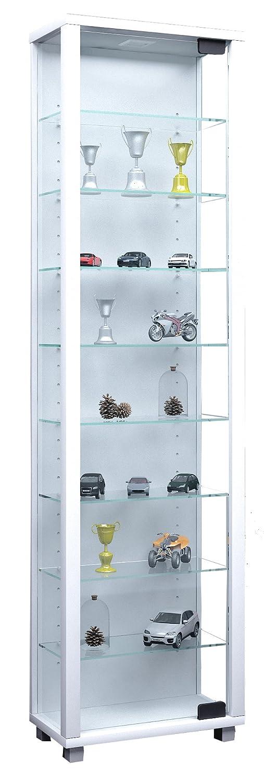 Bianco VCM 911768 vetrina Edana Maxi Senza Legno di Illuminazione 115 x 33 cm