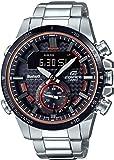 Casio Analog-Digital Black Dial Men's Watch-ECB-800DB-1ADR (EX451)