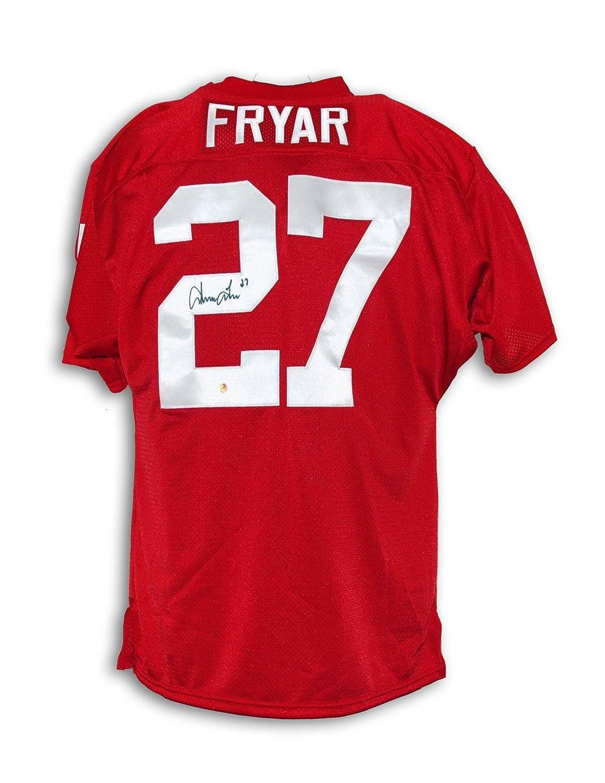 buy online 0c833 5bdb3 Irving Fryar Autographed Jersey - Nebraska Cornhuskers ...