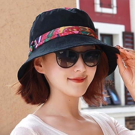 QIER-MZ Cappello Da Donna Elegante Cappello Da Marinaio Cappello Moda  Casual Cappello Pescatore Moda 125e060b6ff1
