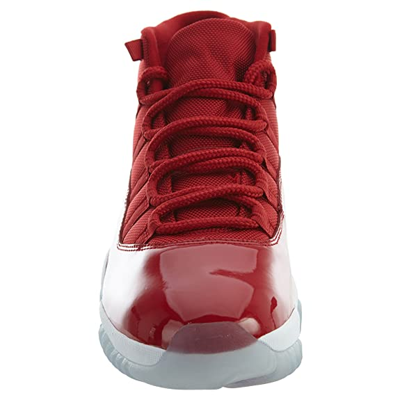 Jordan Men's Air 11 Retro, GYM REDWHITE, 8.5 M US