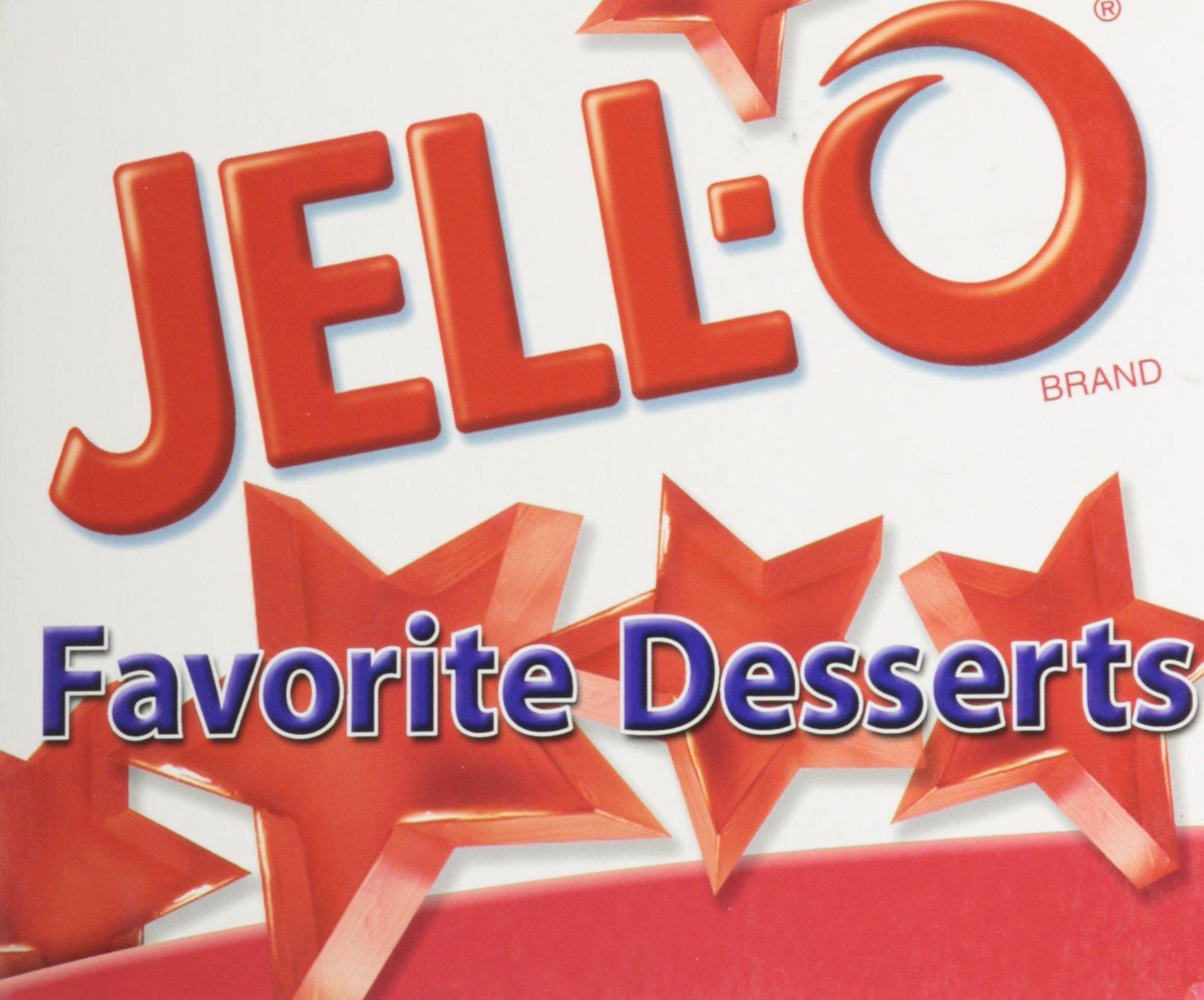 Download jello favorite desserts PDF