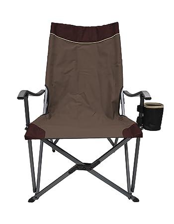 Amazon.com: Ultra peso ligero silla plegable RV silla de ...