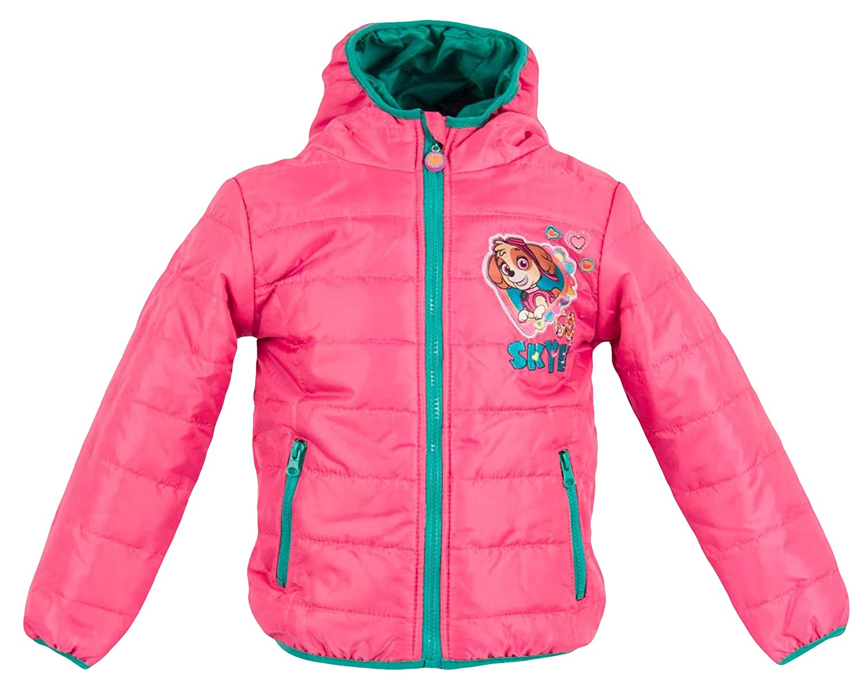Nickelodeon Paw Patrol Girls Winter Padded Jacket