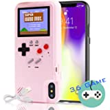Autbye Gameboy Case for iPhone, Retro 3D Phone Case Game Console with 36 Classic Game, Color Display Shockproof Video…