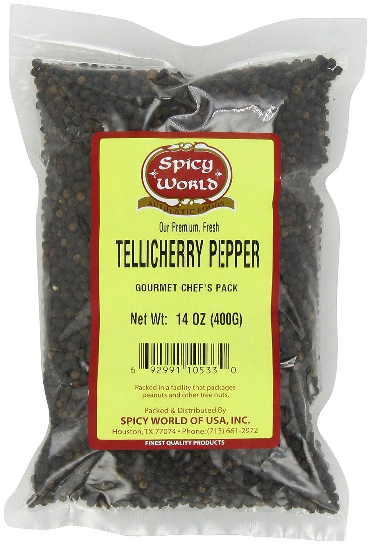 Spicy World Tellicherry Pepper, 14-Ounce Unit