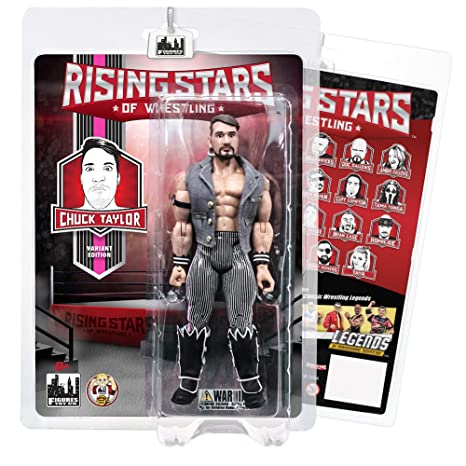 5e1d830787e5 Image Unavailable. Image not available for. Color  Rising Stars of Wrestling  Action Figure Series  Chuck Taylor ...